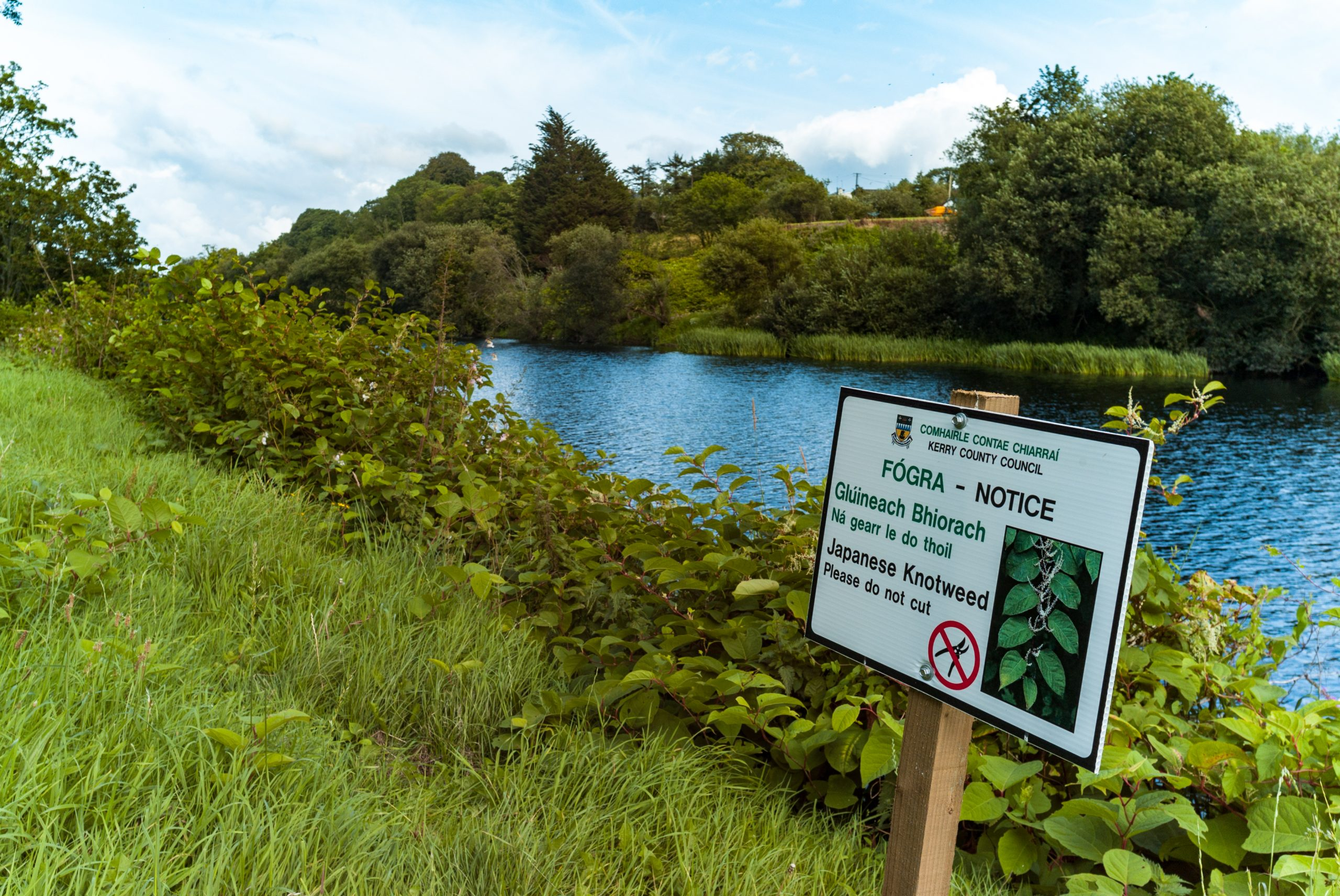 county,kerry,,ireland, ,24th,july,,2019:,warning,notice,sign